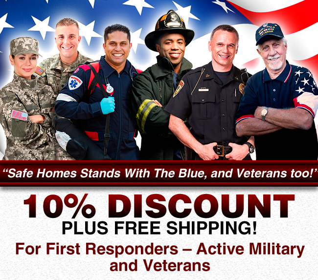 10% Discount for First Responders!